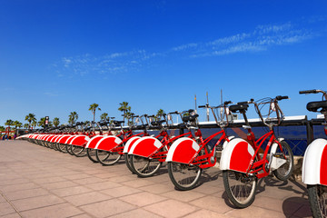Bike Sharing in Barcelona Spain