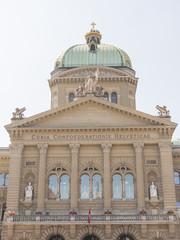 Bern, Altstadt, Bundeshaus, Bundesplatz, Sommer, Schweiz