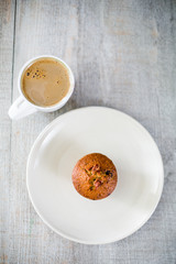 Morning coffee & muffin - Yummy!