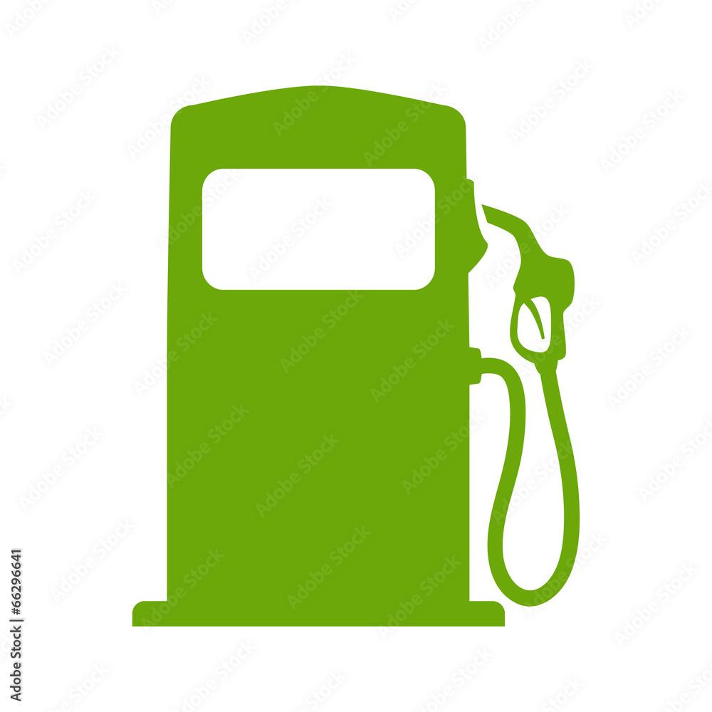 paliwa na białym tle naturalny - powiększenie