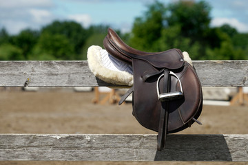 Equestrian saddle
