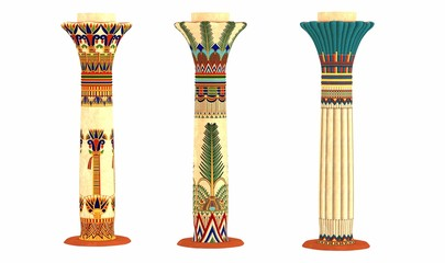 pilier égyptien