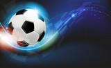 Fototapety Ball on blue background