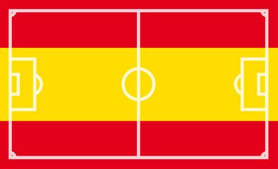 Spanien Fußballflagge