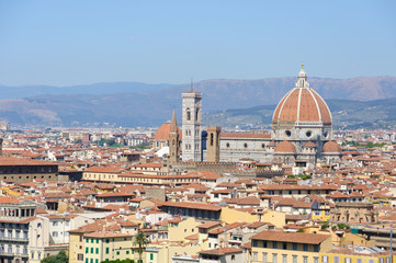 Duomo Santa Maria del Fiore - Historic centre of Florence in Ita