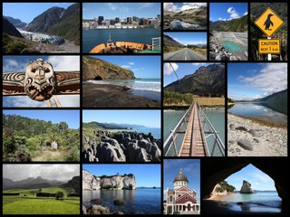 New Zealand - photo collage