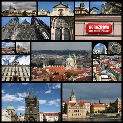 Prague - photo collage
