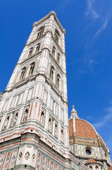 Campanile di Giotto - Historic centre of Florence in Italy