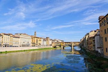 Ponte Vecchio and the Arno river - Historic centre of Florence