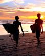 Bali surfers
