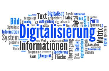Digitalisierung (digital, Daten)