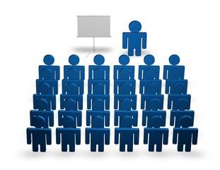 business course, congress meeting concept