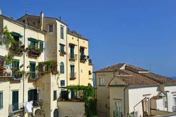 Salerno - veduta del centro storico