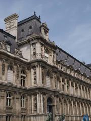 Voley playa junto al Ayuntamiento de París