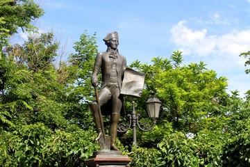 monument to de Ribas in Odessa