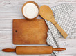 Cooking concept. Ingredients and kitchen tools