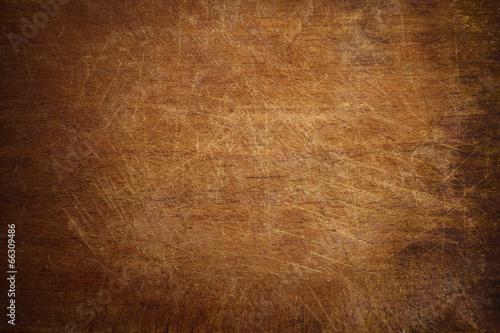 fototapeta na ścianę Stare grunge drewniane deska do krojenia w kuchni w tle