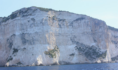 Rock in Corfu