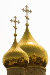 Купола. Никольский собор. Город Черкесск