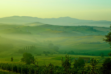typical Tuscany landscape, Italy
