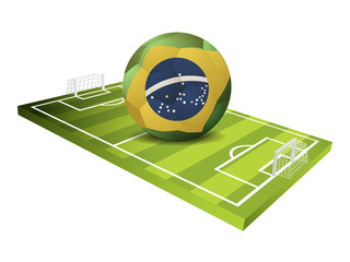 Soccer Sport field Vector Design