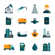 Oil Industry Flat Icons - 66312875