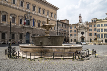 Farnese Square in Rome