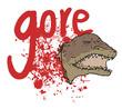 Gore crocodile