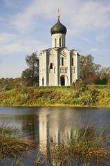 Церковь Покрова-на-Нерли в Боголюбово. Владимирская область