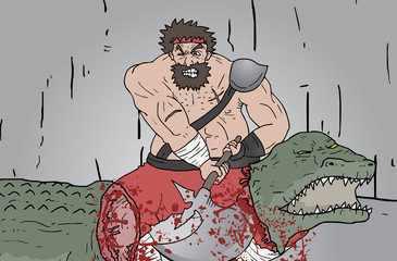 Kill crocodile