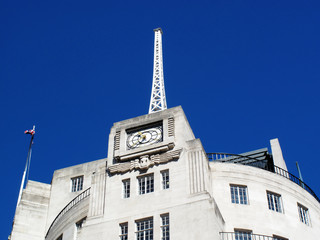 BBC Broadcasting House antenna