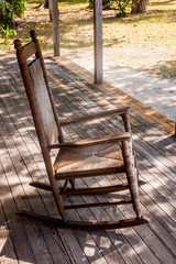 Rocking Chair for A Summer Night