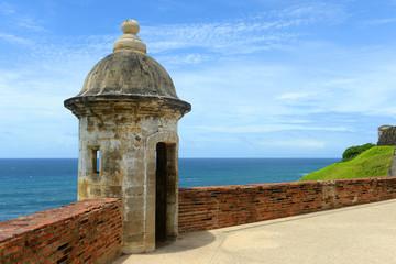 Castillo San Felipe del Morro Sentry Box, San Juan