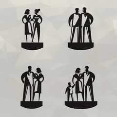People. Vector format