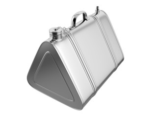 Vintage Jerrycan. 3D isolated