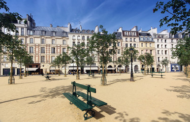 Paris, place Dauphine