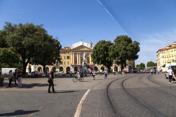 Nice, France. Garibaldi square2