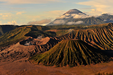 Mount Bromo Volcano of East Java, Indonesia