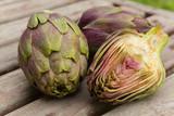 Violet artichoke