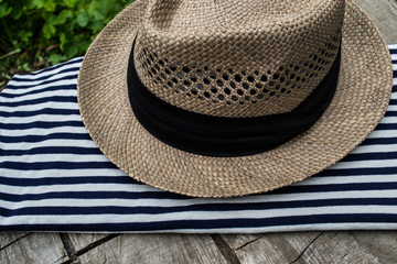 T-shirt, striped shirt, accessories, hats, pirate