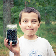 Go blueberry picking