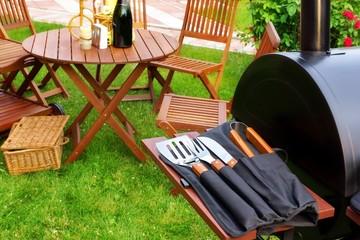 Summer Picnic in the Backyard