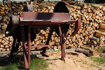 feuerholz machen