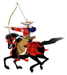 日本の歴史 流鏑馬 侍