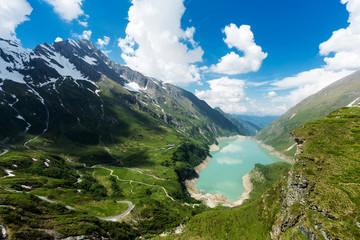Stausee in den Alpen