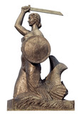 Warsaw mermaid - 66331068