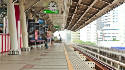 Bangkok Train Station Time Lapse