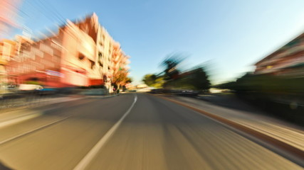 Barcelona City Driving