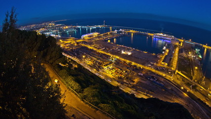 Barcelona Shipyard Time Lapse