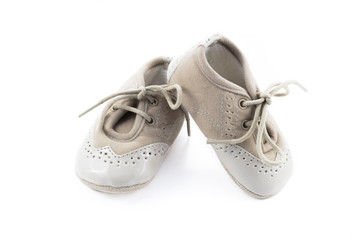 Beige shoes for kids